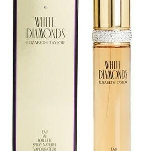 Elizabeth Taylor ,white diamons